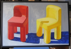 Red and Yellow Chairs 2010