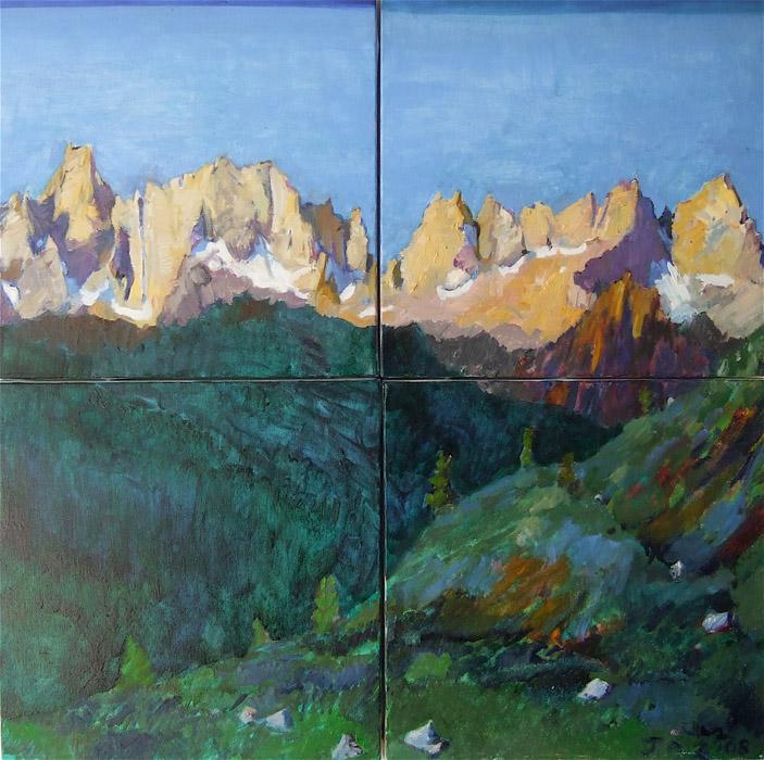 Dawn Matterhorn Ridge