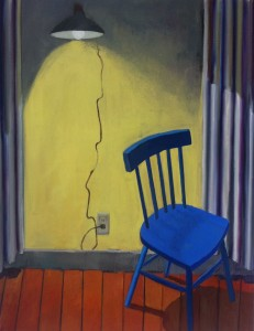 Blue Chair II